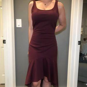 ♦️Amanda Uprichard maroon dress
